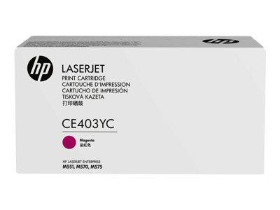 HP TONER CARTRIDGE 507A MAGENTA