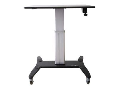 StarTech.com Mobile Sit Stand Workstation