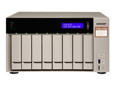 QNAP TVS-873E-4G 8 BAY NAS Enclosure - Diskless