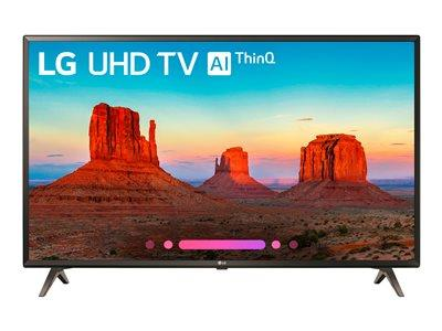 "LG 49"" UK6300 4K Ultra HD with HDR Smart LED TV"