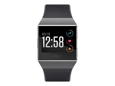 Fitbit Ionic Smart Fitness Watch - Charcoal / Smoke Grey