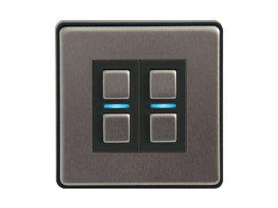 LightwaveRF Gen 2 Smart Dimmer - 2 Gang