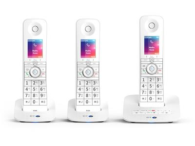BT Premium Voice Control Phone - Three handsets