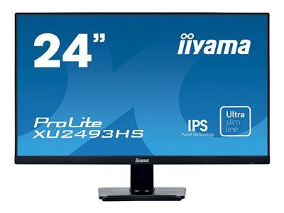 "iiyama ProLite XU2493HS-B1 23.8"" 1920x1080 4ms VGA HDMI DisplayPort IPS LED Monitor"
