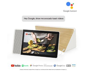 Lenovo Smart Display with the Google Assistant - 10inch