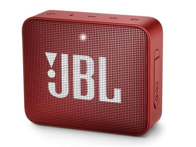 JBL Go 2 Bluetooth Speaker - Red