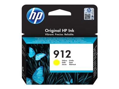 HP 912 Yellow Original Ink Cartridge