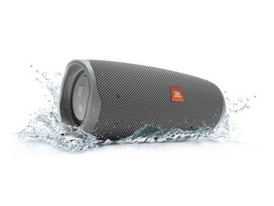 JBL Charge 4 Portable Bluetooth Speaker - Grey