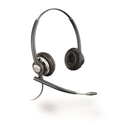 Plantronics EncorePro HW720 Binaural/Duo/Stereo Corded Headset 3 Year Warranty (was HW301N)