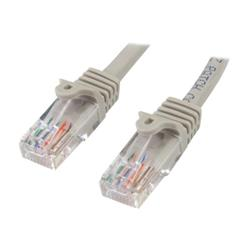 StarTech.com 2m Grey Cat 5e Patch Cable