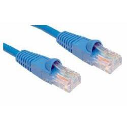 Cables Direct Cat 6 Ethernet Network Blue 1m