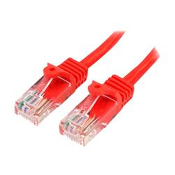 StarTech.com Cat5e Patch Cable with Snagless RJ45 Connectors 1m - Red