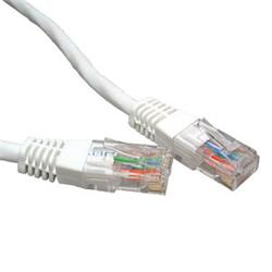 Cables Direct CAT5e Network Ethernet Patch Cable White 0.5m