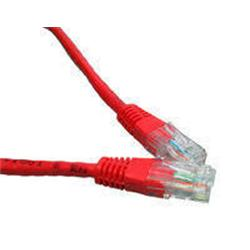 Cables Direct CAT5e Network Ethernet Patch Cable Red 5m