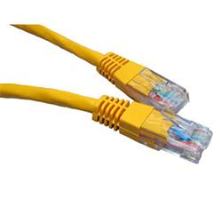 Cables Direct 5M Yellow Network Cable