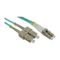 Cables Direct 5M LC-SC 50/125 MMD OM3 Cable - Aqua