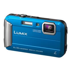 Panasonic DMC-FT30 Blue Camera Kit inc 16GB SDHC Class 10 Card & Case