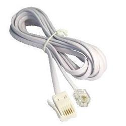 Cables Direct 2M White BT M - RJ11 M S/T Modem Cable- B/Q 500