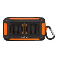 Veho Vecto mini water resistant wireless speaker - Orange