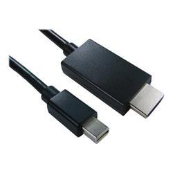 Cables Direct 2m Mini Display Port (M) - HDMI (M) B/Q 80 - Black