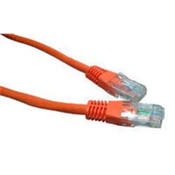 Cables Direct 3M CAT 5 E Moulded Boot Orange