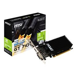 MSI GeForce GT 710 2GB DDR3 Dual-DVI-D HDMI Graphics Card