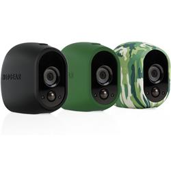 Arlo Skin - Set of 3 in Black, Green, Camouflage