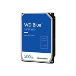 "WD 500GB Blue 3.5"" SATA 6Gb/s 7200rpm 32MB Hard Drive"