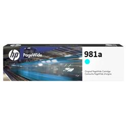 HP 981A Cyan original PageWide ink cartridge
