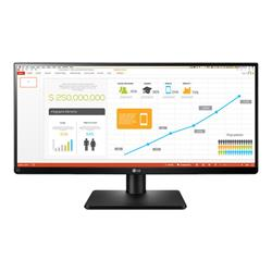 "LG 29"" Black Full HD LED Monitor 2560 x 1080 2x 5W Speaker Dis"