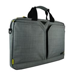 "Techair Evo 15.6"" Laptop Shoulder Bag - Grey"