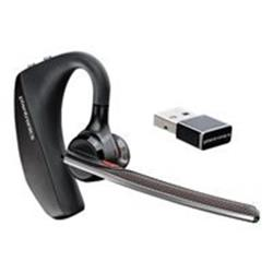 Plantronics Voyager 5200 UC Bluetooth Noise Cancelling Wireless Headset - Mobile / PC / Tablet