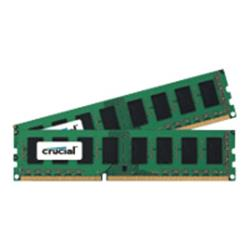 Crucial 8GB (2x4GB) DDR3 DIMM 240-pin 1600 MHz/PC3-12800 CL11 1.35V unbuffered non-ECC