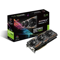 Asus GeForce GTX 1060 ROG STRIX OC 6GB GDDR5 PCIe3.0 Graphics Card