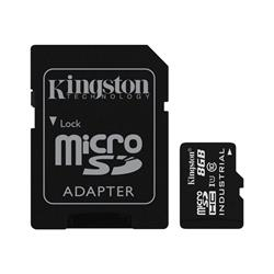 Kingston 8GB microSD UHS-I Industrial Temperature with SD Adaptor