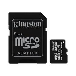 Kingston 32GB microSD UHS-I Industrial Temperature with SD Adaptor
