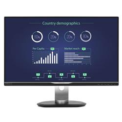"Philips 258B6QUEB  25"" 2560x1440 5ms VGA DVI DP HDMI USB-C"