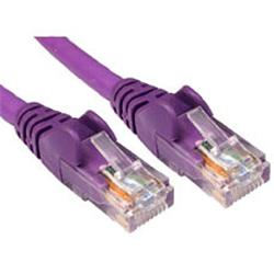 Cables Direct Cable Depot - Patch cable - RJ-45 (M) to RJ-45 (M) - 1.5m - CAT 6 - moulded, halogen-free - Violet