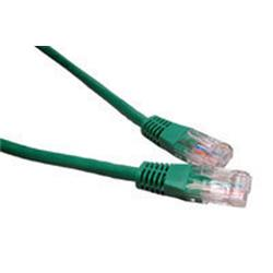 Cables Direct - Patch cable - RJ-45 (M) to RJ-45 (M) - 15m - UTP - CAT 5e - molded - Green