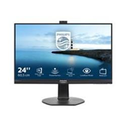 "Philips 241B7QPJKEB/00 23.8"" 1920x1080 VGA HDMI DP USB Monitor"