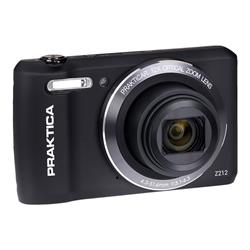 Praktica Luxmedia Z212 Black Camera Kit inc 16GB MicroSD Card