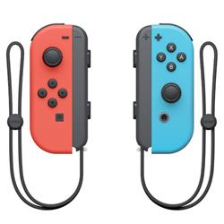 Nintendo Switch - Neon Red Joy-Con (L) and Neon Blue Joy-Con (R) Controller Set