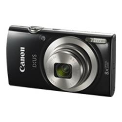 Canon IXUS 185 Camera Kit inc 8GB SD Card and Case - Black