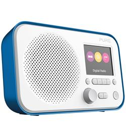 Pure Elan E3 Blue portable DAB digital and FM radio