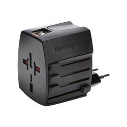 Kensington Intnl Travel Adapter USB 2.4A