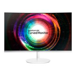 "Samsung 27"" WQHD 2560 x 1440 3 Side Bezel-Less Curved Monitor"