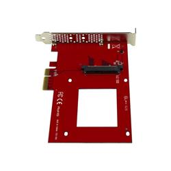 StarTech.com U.2 to PCIe Adapter -SFF-8639