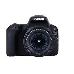 Image of Canon EOS 200D Black + 18-135mm IS STM