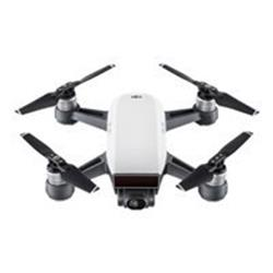 DJI Spark Quadcopter Mini Drone - Alpine White (Fly More Combo Pack)