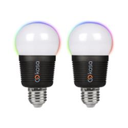 Veho Kasa Bluetooth Smart Lighting LED E27 bulb - twin pack